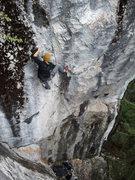 Rock Climbing Photo: Craig Lingley, West Coast Hustle 12b