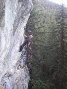 "Rock Climbing Photo: Cory Hall on ""The Price Is Wrong"" 11b/c"