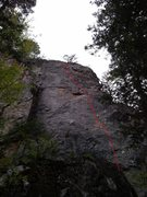 Rock Climbing Photo: From N.B With Love 5.9