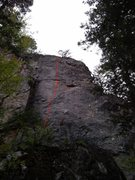 Rock Climbing Photo: East Coast Muscles 5.11-