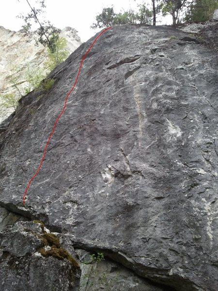 Rock Climbing Photo: Tech Switch 11b