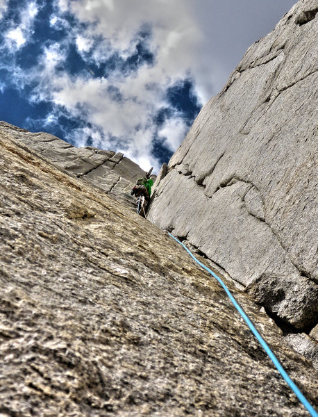 Rock Climbing Photo: High Sierra Awesomeness