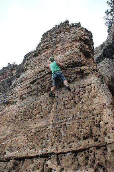 Rock Climbing Photo: Slots O Fun (August 2013)