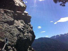 Rock Climbing Photo: Great exposure