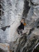 Rock Climbing Photo: Craig on West Coast Hustle 12b