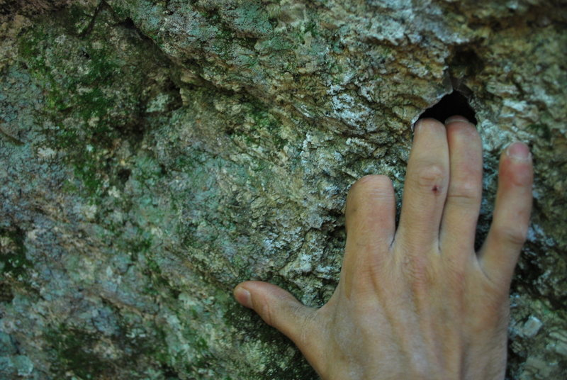 The cool pocket to start Rock Shop. No, I'm not missing my index finger.