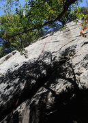 Rock Climbing Photo: After leading Sword in the Stone (whose bolts are ...