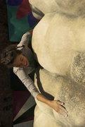 Rock Climbing Photo: Tatiana Mejia on Bumboy