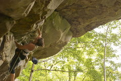 Rock Climbing Photo: Emily Korth on Solstice (5.12a)
