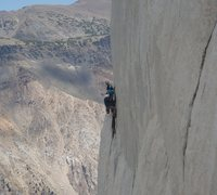 Rock Climbing Photo: A few parties hanging out on P.V. Get to work!