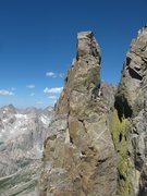 Rock Climbing Photo: Marmot's Tooth from the West Face Spire.