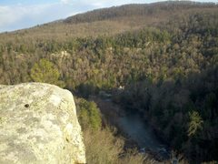 Rock Climbing Photo: Best Seat In The House in the Obed