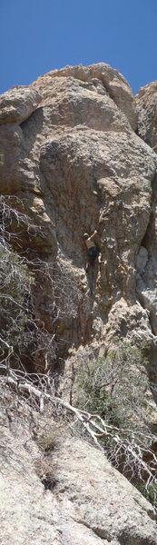 Rock Climbing Photo: Two Birds Too Stoned (June 2013)