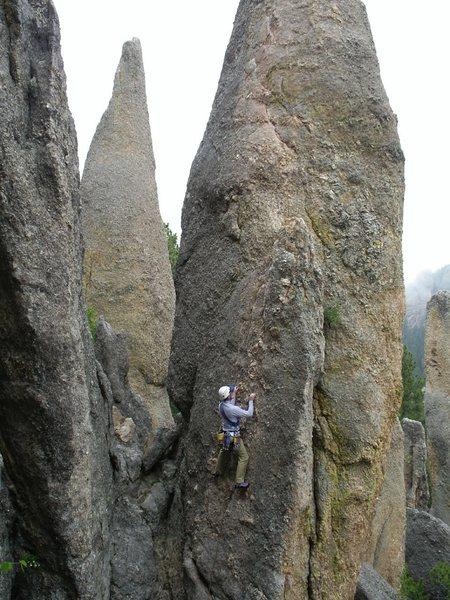 Rock Climbing Photo: Triconi Nail