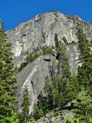 Rock Climbing Photo: Lower Buttress below the Main Wall/West Wall