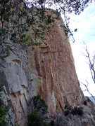 Rock Climbing Photo: EFR high up on the route