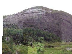 Rock Climbing Photo: Avalanche Lake