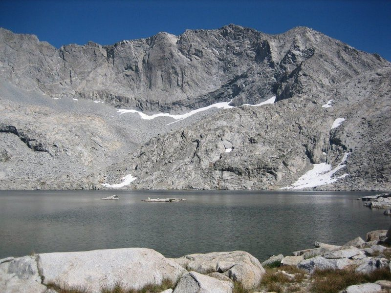 Cyclorama Wall above Dumbbell Lakes
