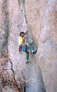 "Rock Climbing Photo: The ""Boxer"" (Karl Runde) getting it done..."