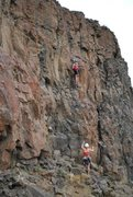 Rock Climbing Photo: Taking Advantage of Rock
