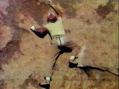 Rock Climbing Photo: John Yablonski moving off the opening jug on the B...