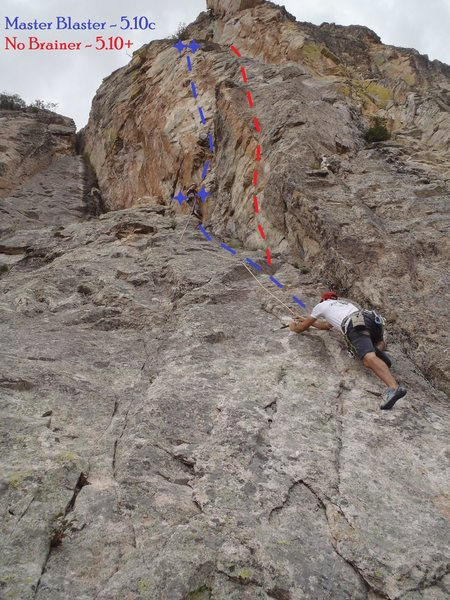 Rock Climbing Photo: No Brainer (August 2013)