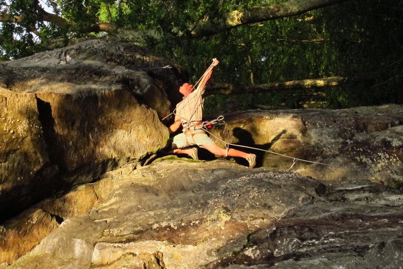 Rock Climbing Photo: Carcass Crag