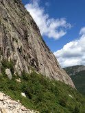 Rock Climbing Photo: View of Cannon Cliff
