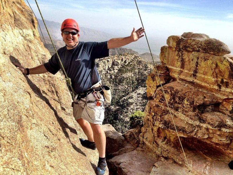 Rock climb mt Lemmon