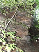 Rock Climbing Photo: 20' wall i found yesterday near South Fork looks l...