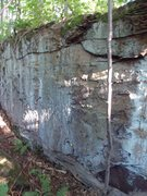 Rock Climbing Photo: fun little 9' rock, near South Fork, did not get a...