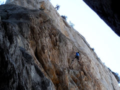 Rock Climbing Photo: Great Train Robbery ext.