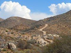 Rock Climbing Photo: The road to adventure, San Bernardino Mountains