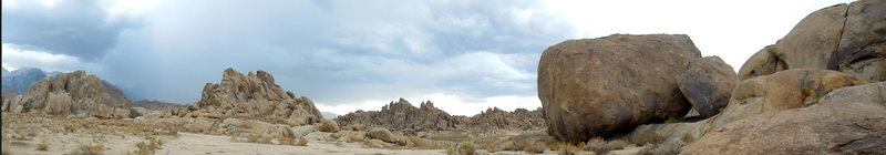 Rock Climbing Photo: Alabama Hills