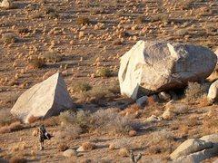 Rock Climbing Photo: Boulders, San Bernardino Mountains