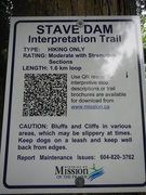 Rock Climbing Photo: trail head sign