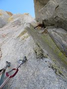 Rock Climbing Photo: Feeling the positive vibes on the hulk