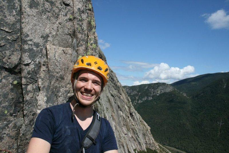 Rock Climbing Photo: Halfway the Whitney Gilman Ridge