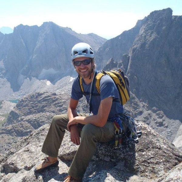 Rock Climbing Photo: Summit of Wolf's Head - Wind River Range