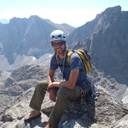 Rock Climbing Photo: Summit of Wolf's Head - Wind River Range