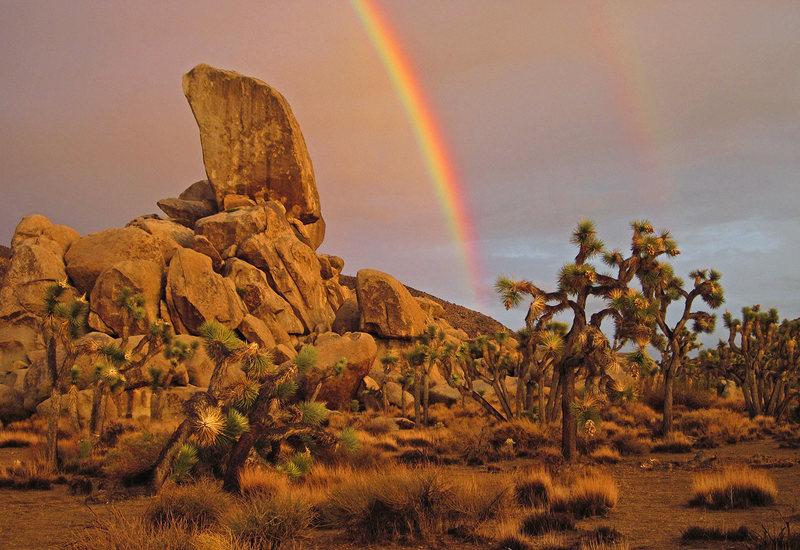 Rainbows at Headstone