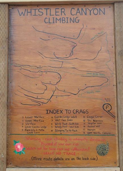Climber's kiosk
