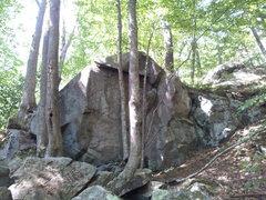 Rock Climbing Photo: 1st Rock on trail