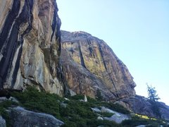 Rock Climbing Photo: The Aerie is in the foreground and the large strea...