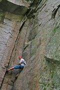 Rock Climbing Photo: Nice  no hands rest here! You can stem, or even si...