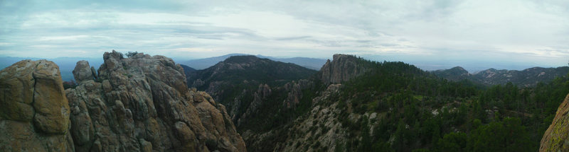 Rock Climbing Photo: Here is a pano I put together taken atop the Ridge...