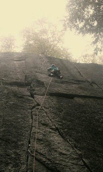 Rock Climbing Photo: Short and sweet climb