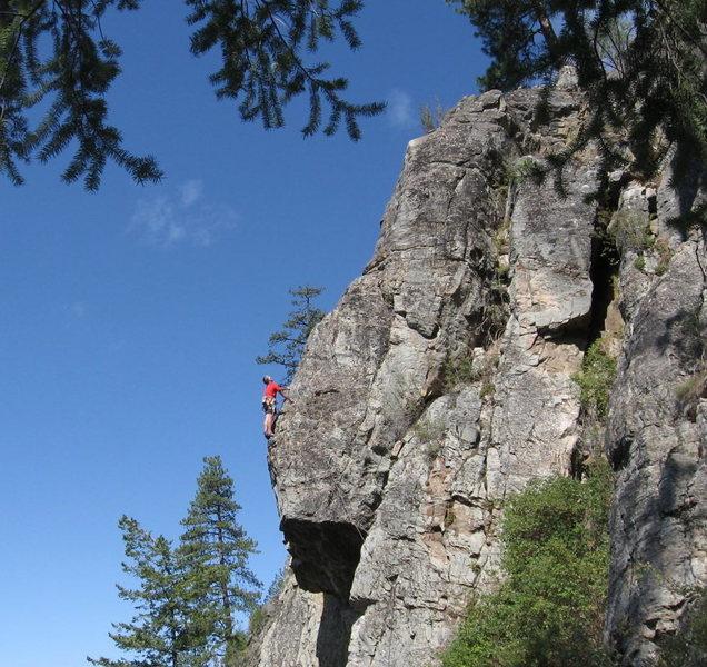 Rock Climbing Photo: Dan Gleason, 'Skyline' FA '09
