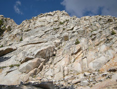 Rock Climbing Photo: base of southern-most buttress - close