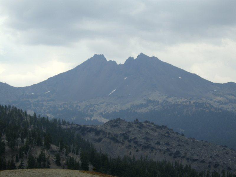Rock Climbing Photo: The Northwest Ridge can be seen here, on the skyli...